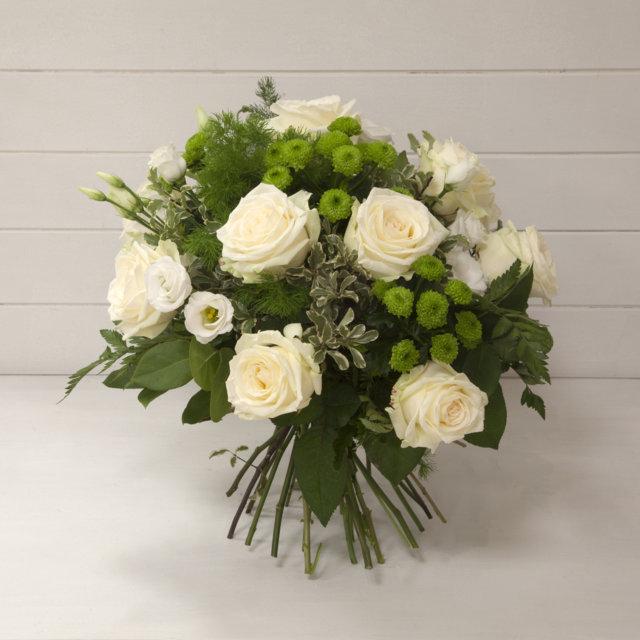 Bien-aimé Bouquet rose bianche - Campo dei Fiori - Acquisto fiori online WQ73