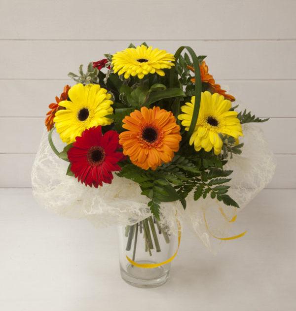 bouquet gerbere